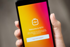 IGTV—take advantage of vertical video and a younger demo