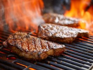 Lessons learned about furniture, advertising, and steaks on the grill.