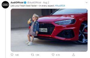 Audi chokes on a bad banana… ad